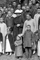 CO-FOUNDER OF MARYKNOLL FATHERS AND BROTHERS PICTURED IN CHINA IN 1918